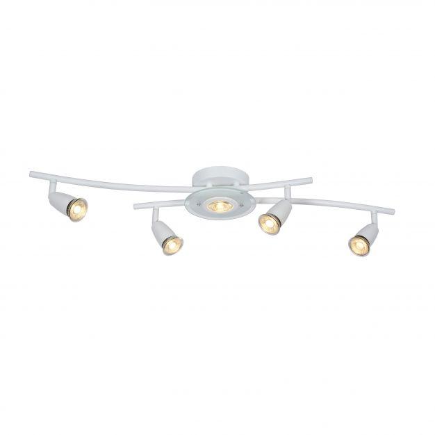 Lucide Bingo LED - spot 5L - 20 x 79 x 15 cm - 5 x 5W LED incl. - blanc