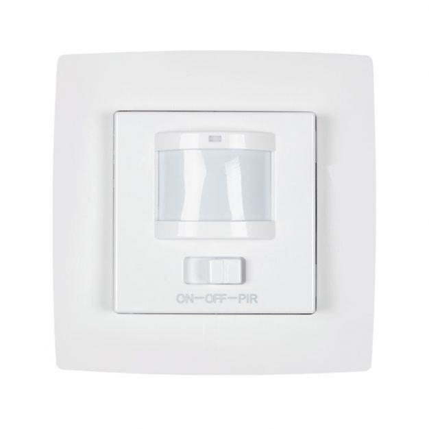 Elmark City - capteur infrarouge encastrable - blanc