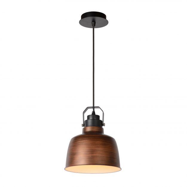 Lucide Naut - suspension - Ø 21 x 152 cm - cuivre
