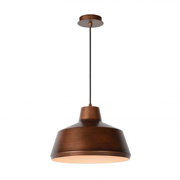Lucide Neil - suspension - Ø 35 x 153 cm - cuivre