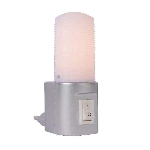 Lucide LED Night Light - veilleuse - 7 x 4 x 10 cm - 3.5W LED incl. - gris