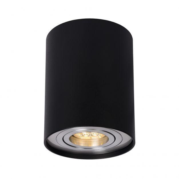 Lucide Tube - spot 1L - Ø 9 x 12 cm - noir