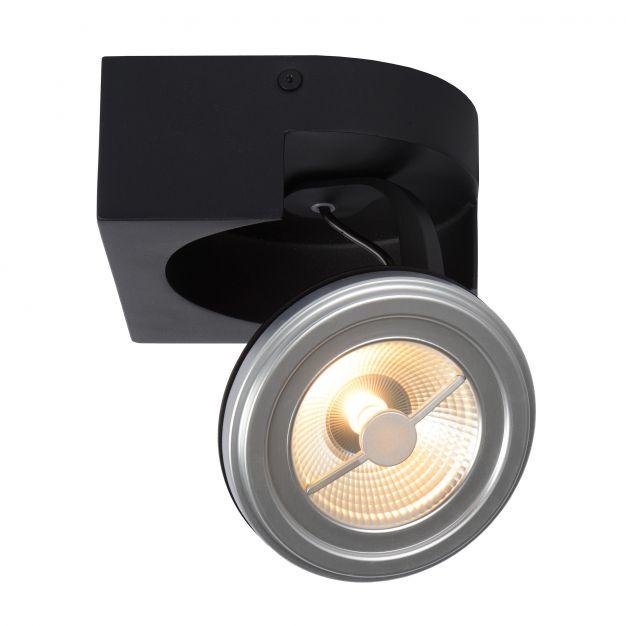 Lucide Versum AR111 - spot 1L - 15 x 15 x 11 cm - 10W LED à intensité variable incl. - noir