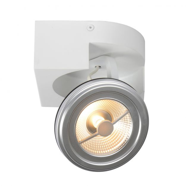 Lucide Versum AR111 - spot 1L - 15 x 15 x 11 cm - 10W LED à intensité variable incl. - blanc