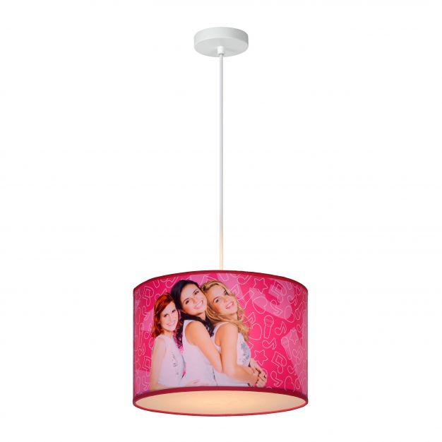 Lucide K3 - suspension pour chambre enfant - Ø 30 x 20 cm - rose