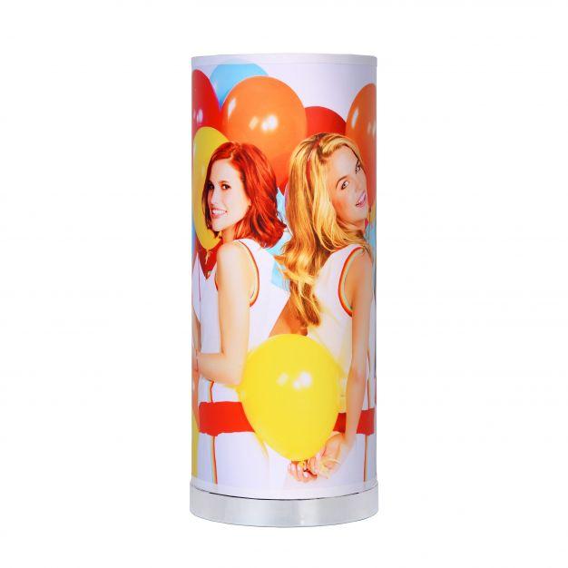 Lucide K3 - lampe de table pour chambre enfant - 36 cm - 5W LED incl. - blanc