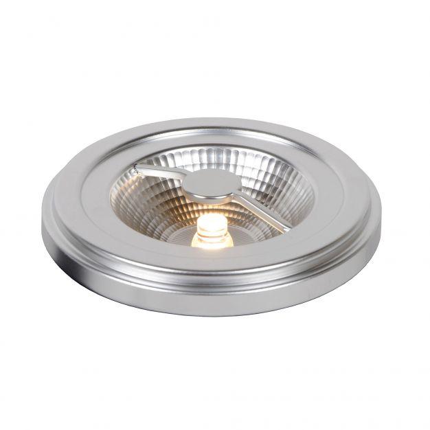 LED QR111 à intensité variable - G53 - 12W - 2700K - chrome mat