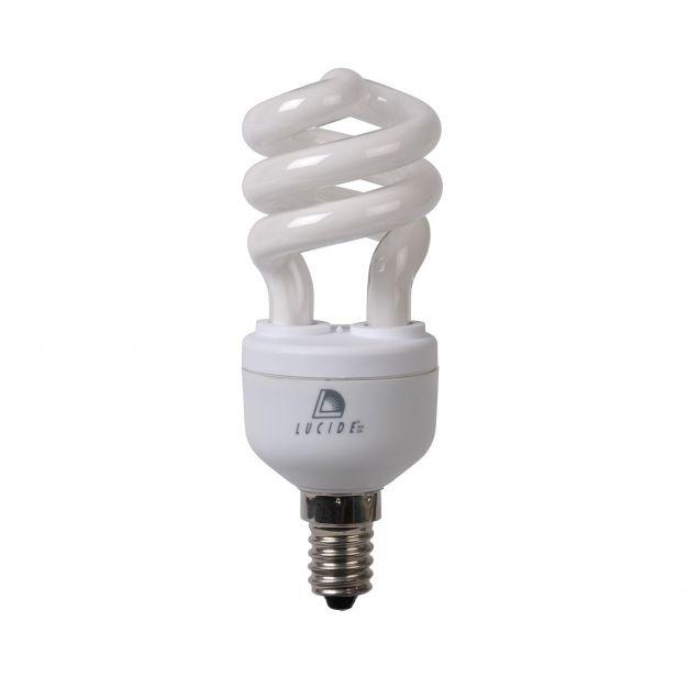 ampoule à économie d'énergie - E14 - 11W - 2700K - blanc