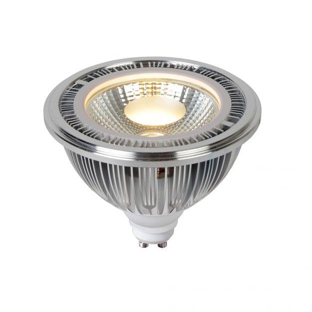 spot LED AR111 - GU10 - 12W - 2700K - argent