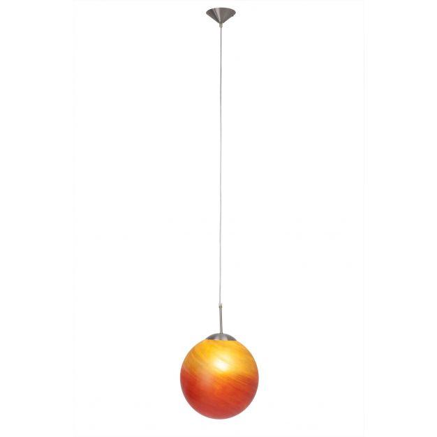 Tim suspension II - rouge-orange