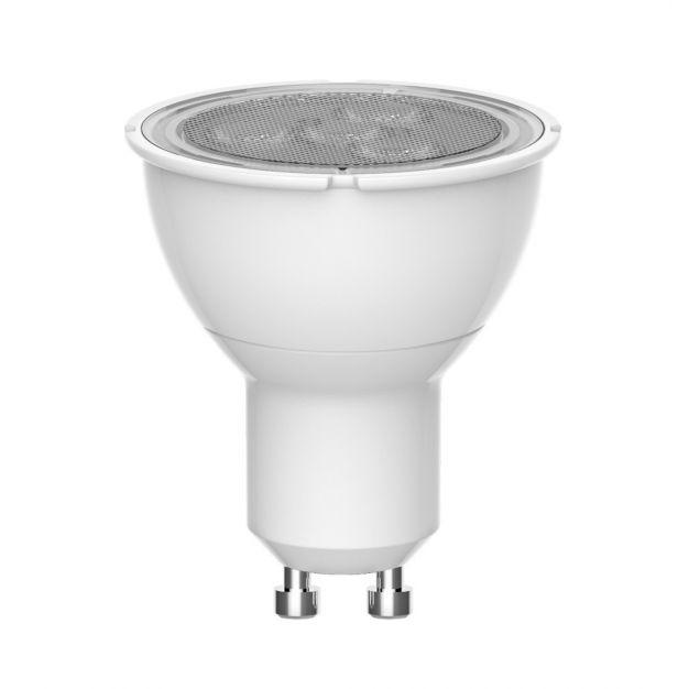 spot LED - GU10 - 3,3W - blanc chaud