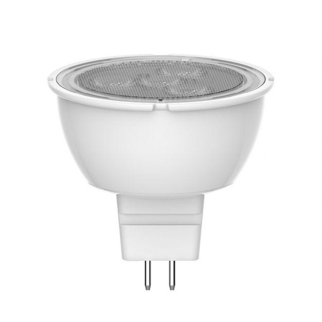 spot LED - GU5.3 - 4W - blanc chaud