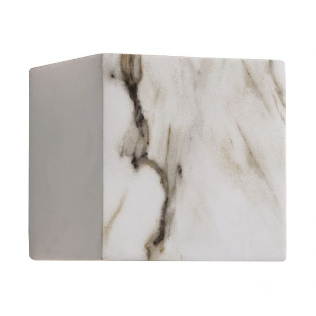 Nova Luce Mood Marble - lampe murale - 13 cm - IP54 - apparence de marbre