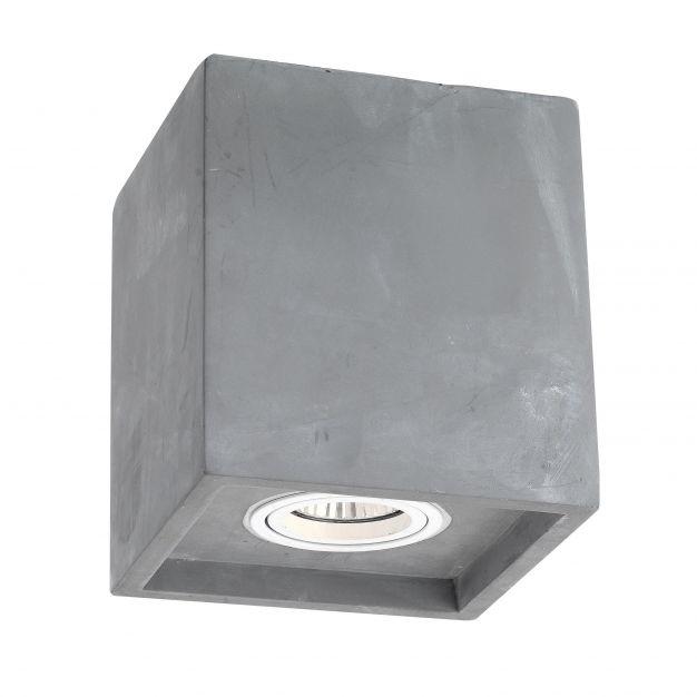Nova Luce Felicio - spot - 15 cm - gris béton