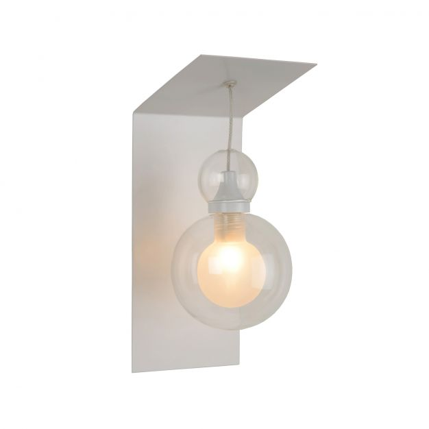 Lucide Mads - lampe murale - 10 x 12 x 25 cm - 3W LED à intensité variable incl. - blanc