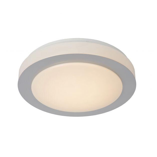 Lucide Dimy - plafonnier - Ø 28 cm - 3-step-dim 12W LED incl. - IP21 - chrome mat