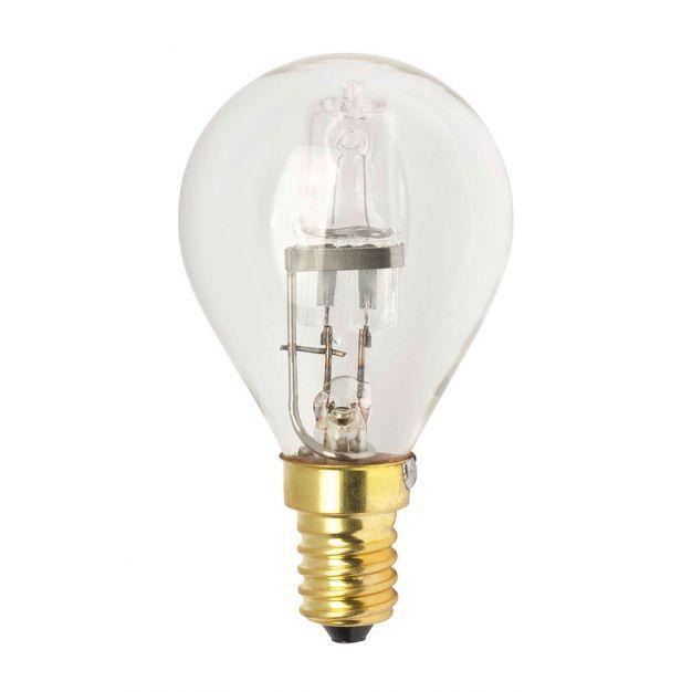 ampoule halogène - E14 - 28W - blanc chaud (fin de série)