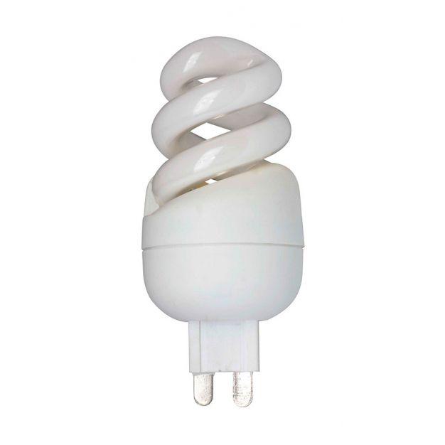 ampoule à économie d'énergie - G9 - 7W - blanc chaud (dernier article)
