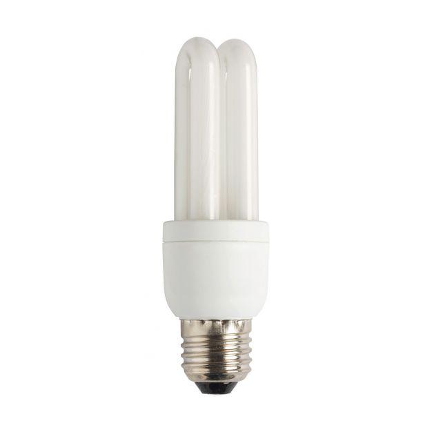 ampoule à économie d'énergie - E27 - 9W - blanc froid