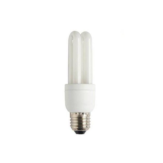ampoule à économie d'énergie - E27 - 15W - blanc froid (fin de série)