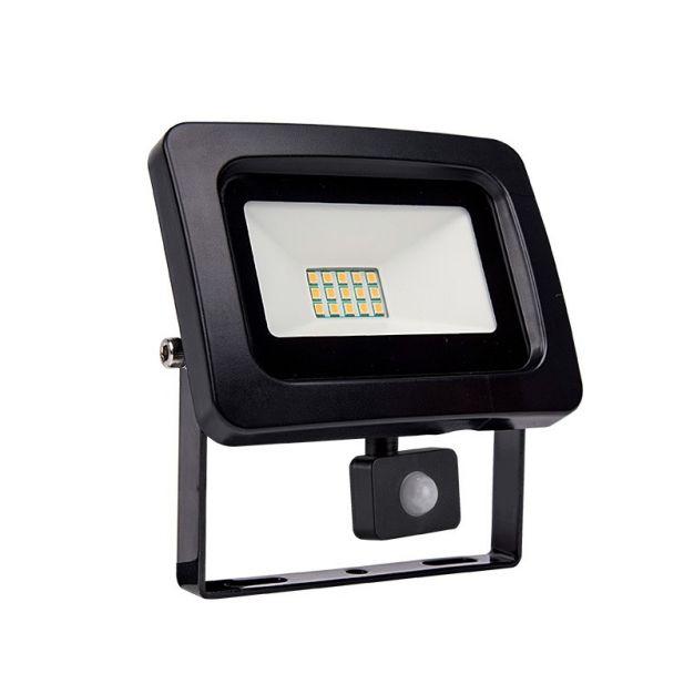 Elmark Vega Slim - projecteur avec capteur - 10 cm - 10W incl. - noir