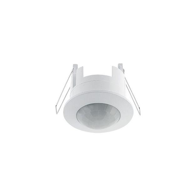 Elmark ST41 - capteur infrarouge intégré - Ø 76 mm, Ø 62 mm taille d'encastrement - blanc
