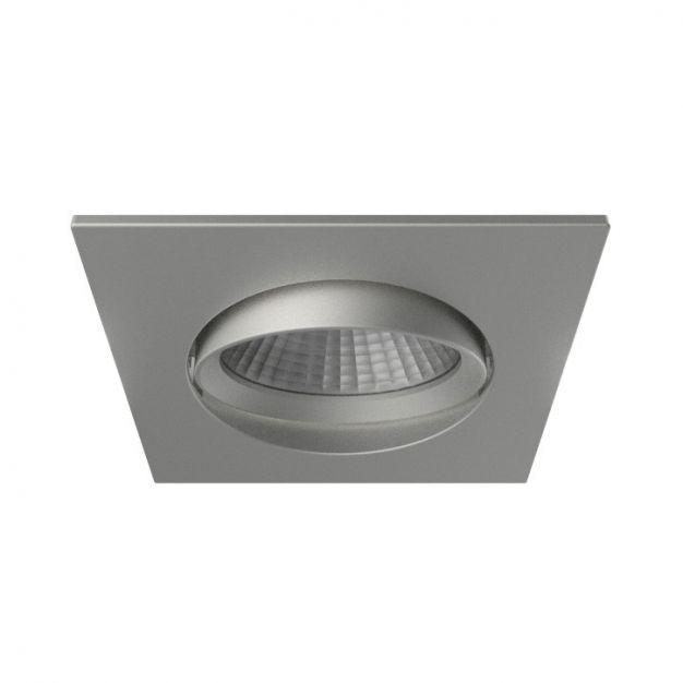 Nordlux Apollo - inbouwspot - 5,5W dimbare LED incl. - 85 x 85 mm, Ø 72 mm inbouwmaat - IP23 - geborstelde nikkel