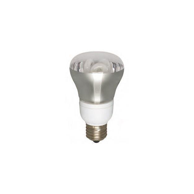 ampoule à économie d'énergie - E27 - R63 - 11W - blanc chaud (fin de série)