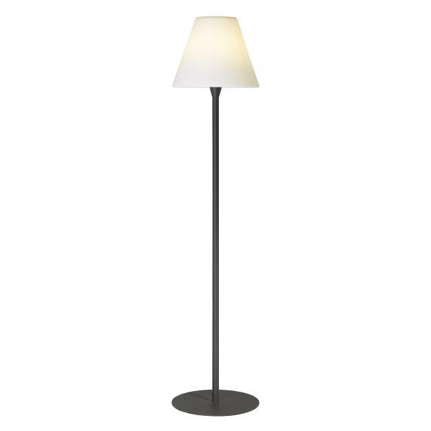 GG- spot - lampadaire - convient pour l'extérieur - 176 cm - IP56 - anthracite et blanc