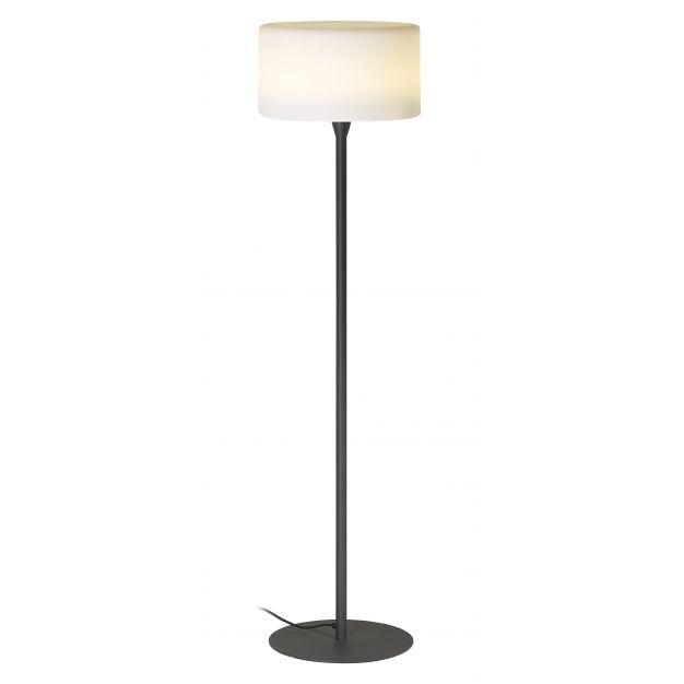 GG- spot - lampadaire - convient pour l'extérieur - 168 cm - IP56 - anthracite et blanc