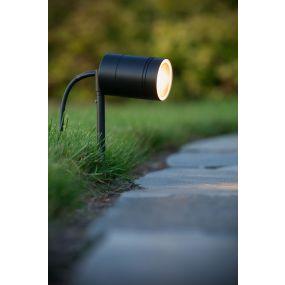 Arne-LED piquet de jardin - noir
