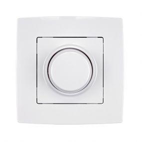 Elmark City - variateur à bouton rotatif LED - LED de 3 à 300 watts - blanc