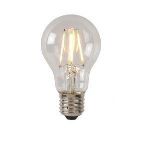 ampoule à filament LED à intensité variable - 10,5 cm - E27 - 5W - 2700 K - transparent
