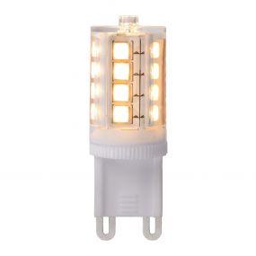 LED lamp à intensité variable - 4,5 x 1,6 cm - G9 - 4W - 2700K - blanc