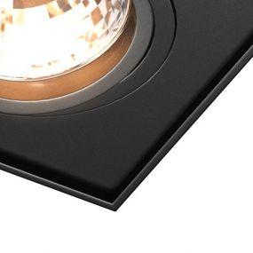 Zuma Line Quadro - spot - 12 cm - noir