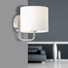 Sindri lampe murale - blanc
